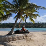 Erakor island near Port Vila