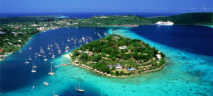Port Vila, Iririki island